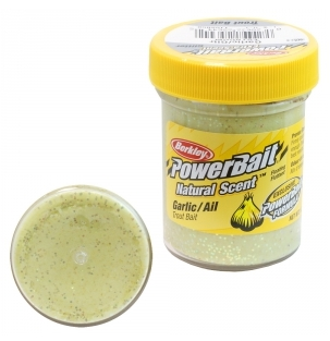 Паста Berkley PowerBait Natural Scent Trout Bait (Чеснок/желтый)
