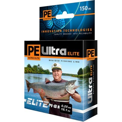 PE ULTRA ELITE Z-8 135m d=0,25mm, olive