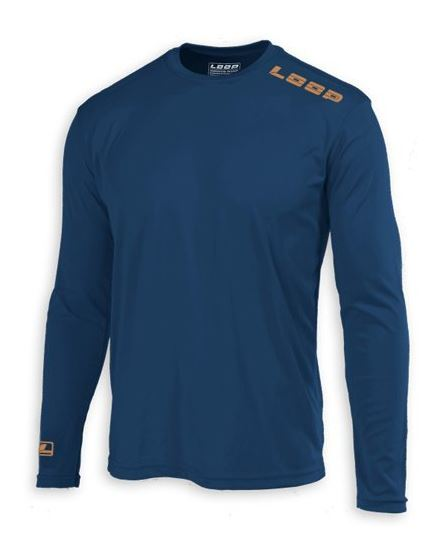 LS Tech Shirt Blue