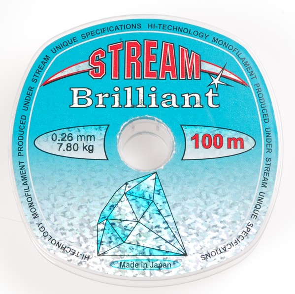 Леска STREAM Brilliant 100m d=0,225 mm