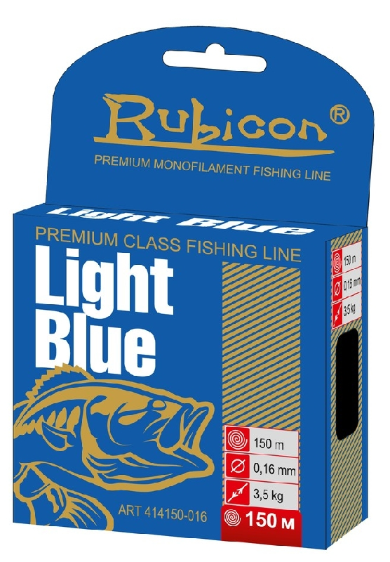 Леска RUBICON Light Blue 150m  d=0,42mm