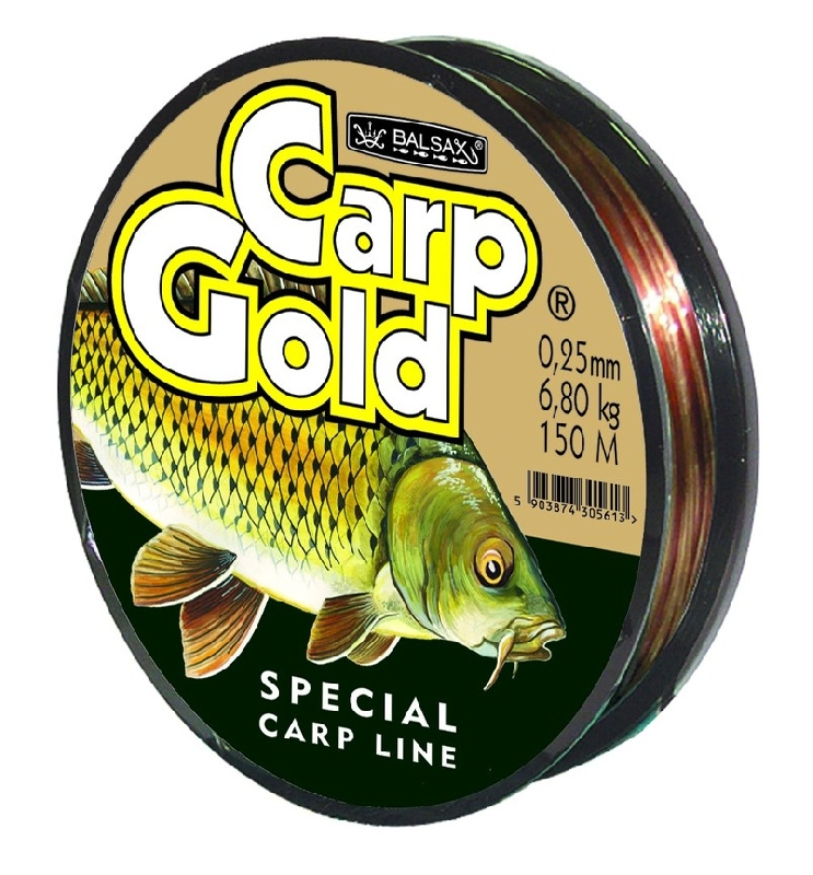 Леска BALSAX Gold Carp 150m d=0,18 mm