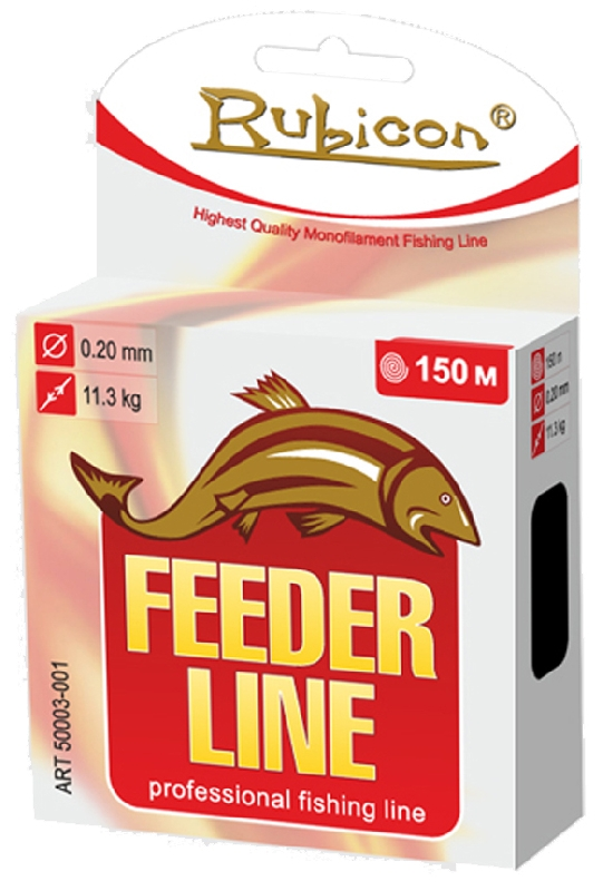 Леска RUBICON Feeder Line 150m d=0,20mm (black)