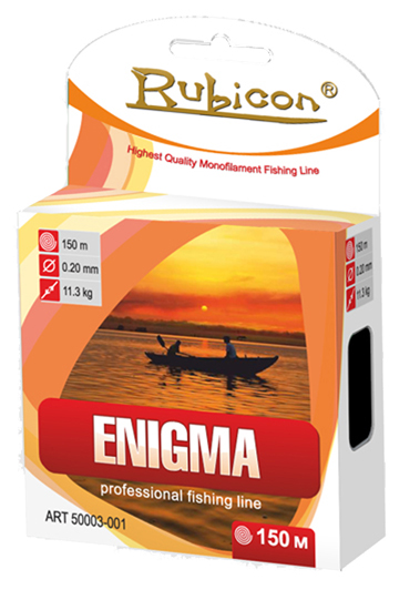 Леска RUBICON Enigma 150m d=0,16mm (light blue)