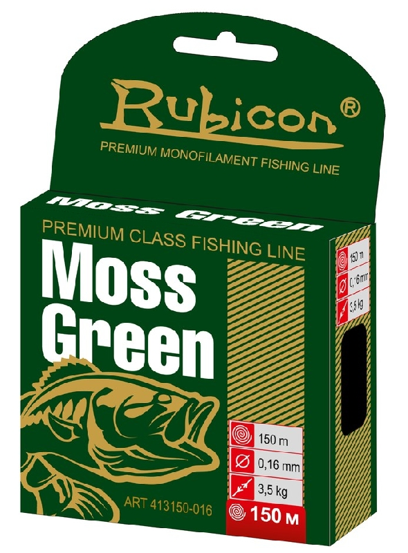 Леска RUBICON Moss Green 150m  d=0,40mm