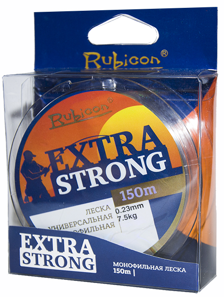 Леска RUBICON Extra Strong 150m, d=0,23mm