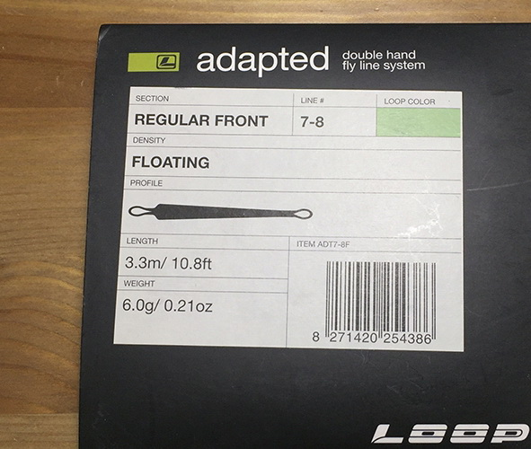 Adapted Regular Front Floating #7-8