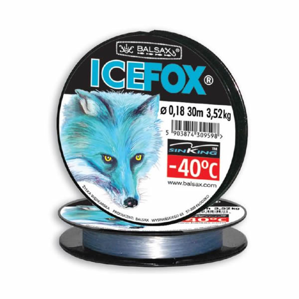 Леска BALSAX Ice Fox 30m d=0,16 mm